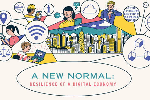 A new normal: resilience of a digital economy