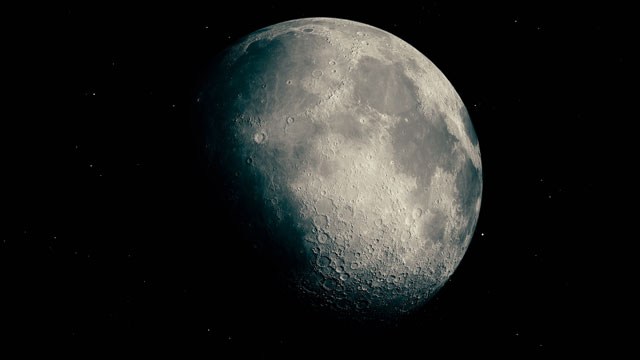 The moon shot